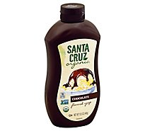 Santa Cruz Organic Syrup Chocolate Flavored - 15.5 Oz