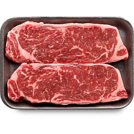 USDA Choice Beef Top Loin New York Thin Strip Steak Boneless - 1.50 Lbs.s.
