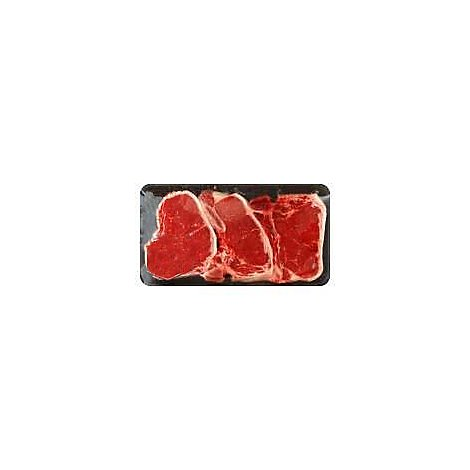 Meat Counter Beef USDA Choice Loin T-Bone Steak Thin Value Pack - 2.50 LB