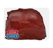 Meat Counter Beef USDA Choice Steak Top Round Thin - 1.00 LB