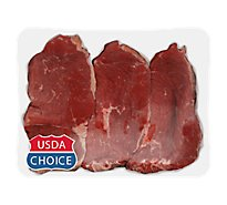Meat Counter Beef USDA Choice Steak Bottom Round Thin - 1.00 LB