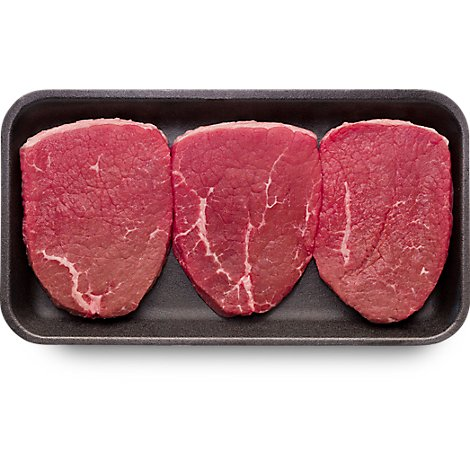 USDA Choice Beef Eye Of Round Thin Cut Steak - 1.00 Lb.