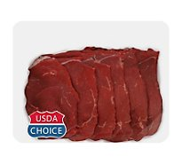 Meat Counter Beef USDA Choice Steak Round Tip Thin - 1.00 LB
