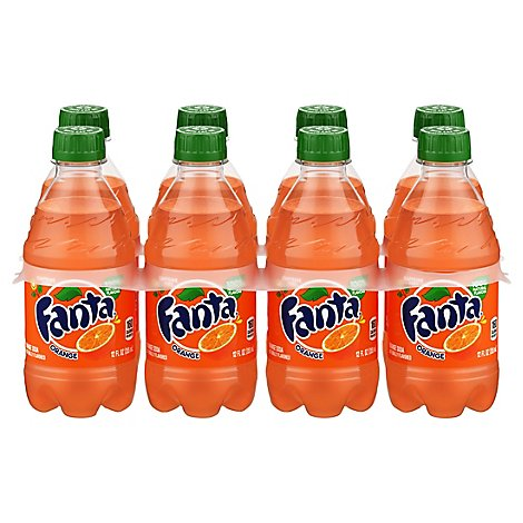 Fanta Soda Orange Caffeine Free - 8-12 Fl. Oz.