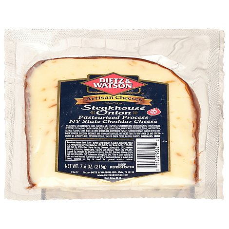 Dietz & Watson Steakhouse Onion Cheddar - 7.6 Oz