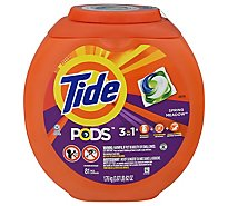 Tide PODS Detergent 3 in 1 Spring Meadow Box - 81 Count