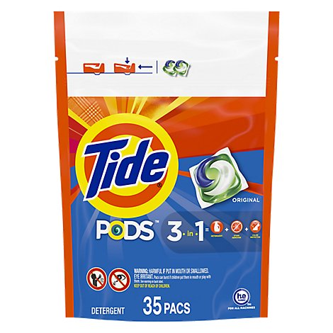 Tide PODS Detergent Pacs Original - 35 Count