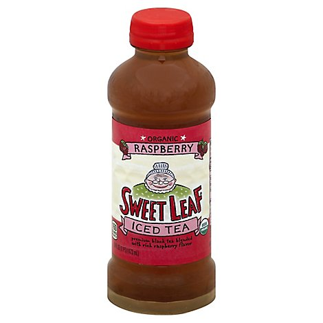 Sweet Leaf Iced Tea Organic Raspberry - 15 Fl. Oz.