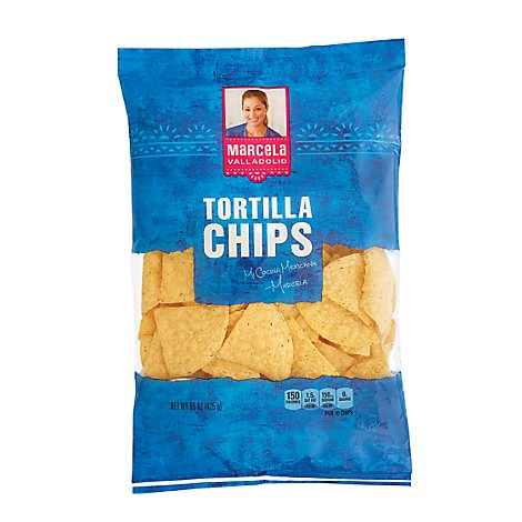 Tortilla Chips Marcela Valladolid (2270 Cal)