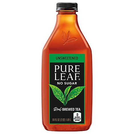 Pure Leaf Tea Brewed Unsweetened - 64 Fl. Oz.