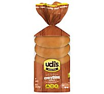 Udis Gluten Free Bagels Everything Inside - 14 Oz