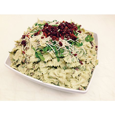 Signature Cafe Basil Pasta Salad with Sundried Tomato - 0.50 Lb