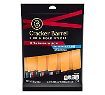Cracker Barrel Cheese 2% Xtra Sharp Cheddar Snacks - 6 Oz