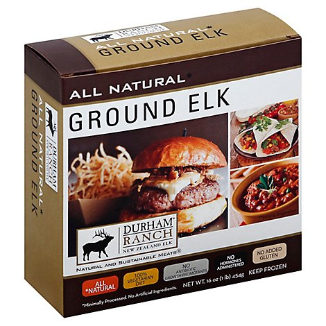 Durham Ranch Ground Elk - 1 Lb
