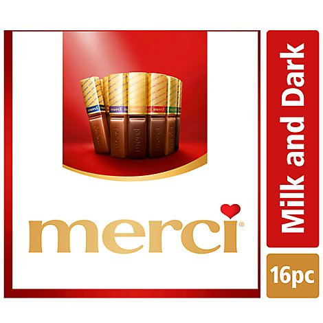 Merci Chocolates European Assortment - 7 Oz