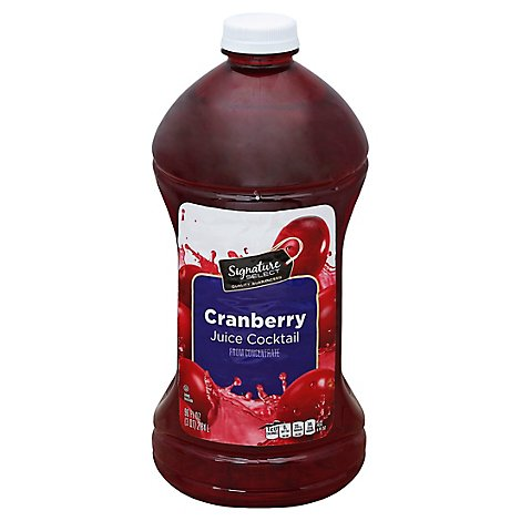 Signature SELECT Juice Cocktail Cranberry - 96 Fl. Oz