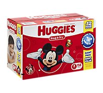 Huggies Snug & Dry Diapers Size 4 Giant Pack - 156 Count