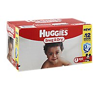 Huggies Snug & Dry Diapers Size 3 Big Pack - 100 Count