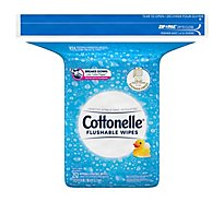 Cottonelle Flushable Wet Wipes Refills Pack - 252 Count