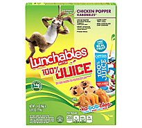 Oscar Mayer Lunchables Lunch Combinations 100% Juice Chicken Popper Kabobbles - 9.4 Oz