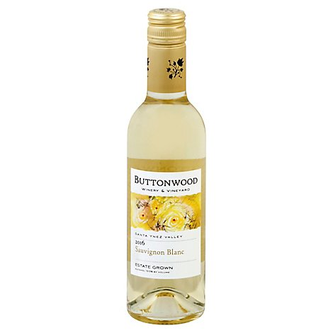 Buttonwood Sauvignon Blanc Wine - 375 Ml