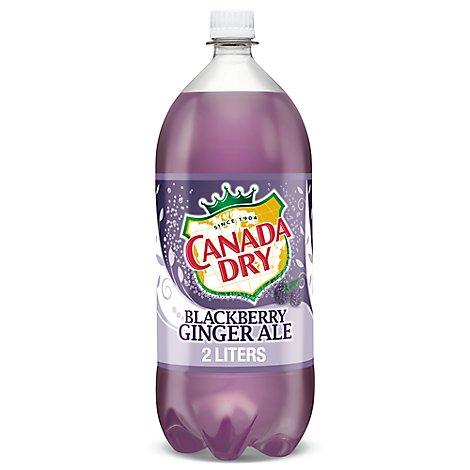 Canada Dry Ginger Ale Blackberry - 2 Liter