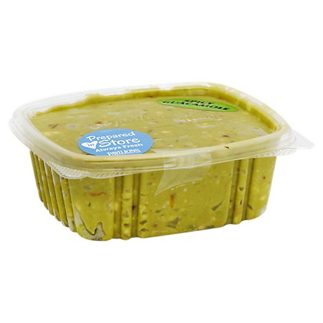 Fresh Guacamole Cup Spicy Prepackaged