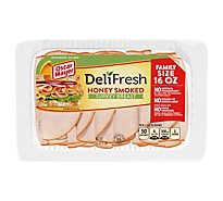 Oscar Mayer Deli Fresh Turkey Breast Honey Smoked - 16 Oz