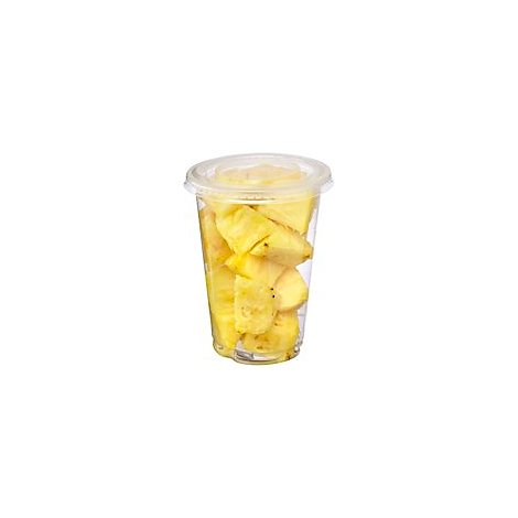 Fresh Cut Pineapple Cup - 12 Oz