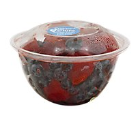 Fresh Cut Strawberry & Blueberry Cup - 12 Oz