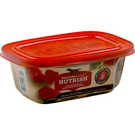 Rachael Ray Nutrish Food for Dogs Super Premium Hearty Beef Stew Tub - 8 Oz