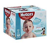 Huggies Baby Wipes One & Done Cucumber & Green Tea Refill - 368 Count