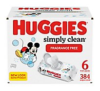 Huggies Baby Wipes Simply Clean Refill - 432 Count