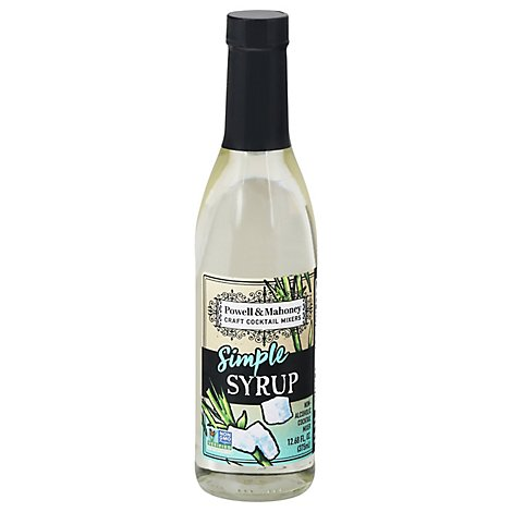 Powell & Mahoney Simple Syrup - 375 Ml