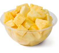 Fresh Cut Pineapple Bowl - 24 Oz