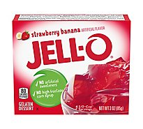 JELL-O Gelatin Dessert Strawberry Banana - 3 Oz