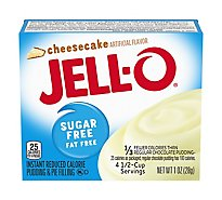 JELL-O Pudding & Pie Filling Instant Sugar Free Cheesecake - 1 Oz