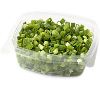 Fresh Cut Diced Green Onion Cup - 3 Oz