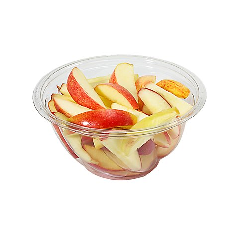 Fresh Cut Apples Sliced Bowl - 14 Oz