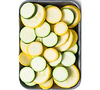 Fresh Cut Zucchini & Yellow Squash Slices - 12 Oz