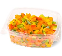 Fresh Cut Pepper Diced Cup - 6 Oz