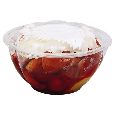 Fresh Cut Strawberry Shortcake - 20 Oz