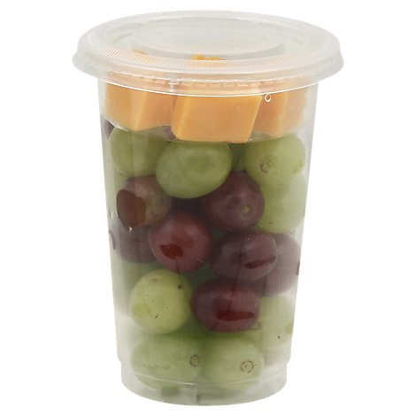 Fresh Cut Grape N Cheese Cup - 7 Oz (400 Cal)