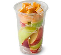 Fresh Cut Apple & Cheese Cup - 8 Oz (370 Cal)