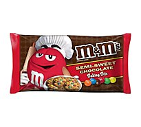 M&Ms Semi-Sweet Baking Bits Candies Bag 10 Oz