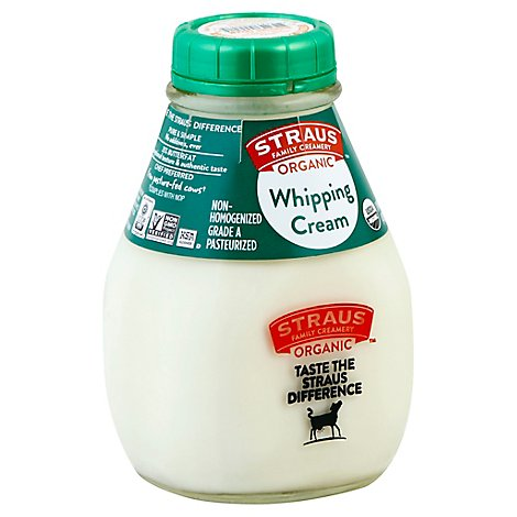 Straus Organic Whipping Cream - 16 Fl. Oz.