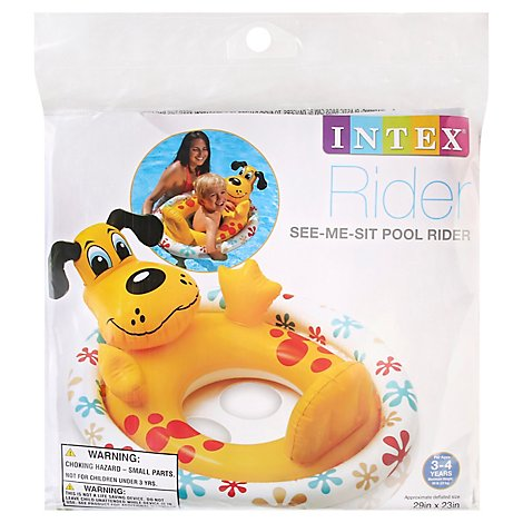 Intex Pool Rider See-Me-Sit - Each