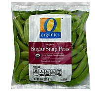 O Organics Organic Sugar Snap Peas Prepacked Bag - 10 Oz