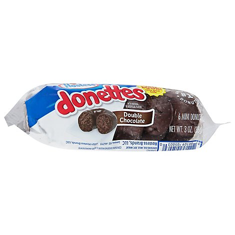 Hostess Frosted Devils Food Donettes Single Serve - 3 Oz