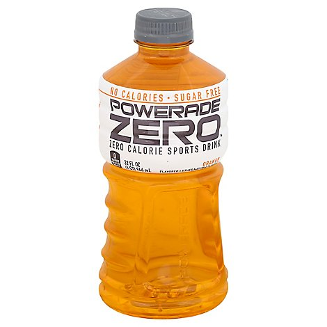 POWERADE Sports Drink Zero Sugar Orange - 32 Fl. Oz.